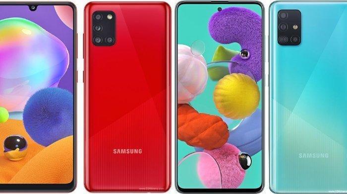 Unggul Mana? Samsung Galaxy A31 atau A51, Berikut Perbandingan Spesifikasi dan Harganya