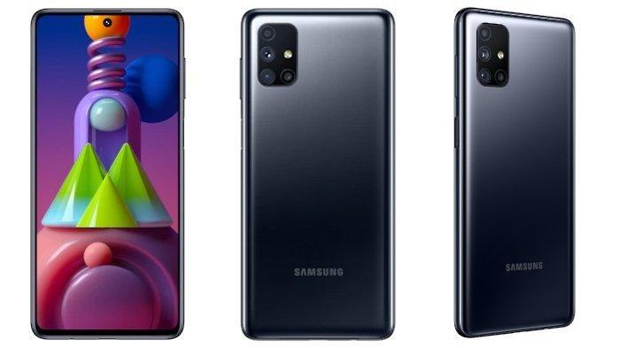 Daftar Harga HP Samsung Terbaru Oktober 2020: Galaxy A21s Rp 3,2 Jutaan, Galaxy M51 Rp 5,5 Jutaan