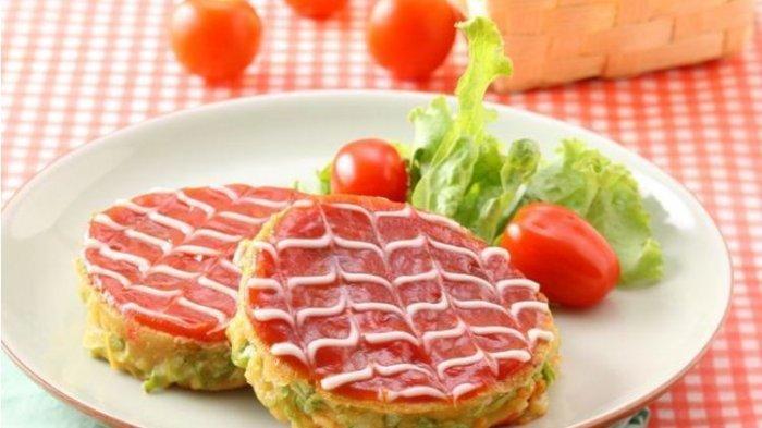 Resep Buka Puasa Praktis Sajian Seafood dan Olahan Ikan, Seafood Okonomiyaki dan Nila Kuah Pedas