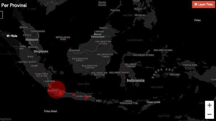 Daftar Kota-kota Besar di Indonesia yang Masih Masuk Zona Merah Covid-19