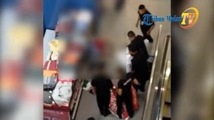 Detik-detik Seorang Pria Nekat Terjun dari Lantai 7 Mal Medan: Diduga Depresi Ditinggal Pacar