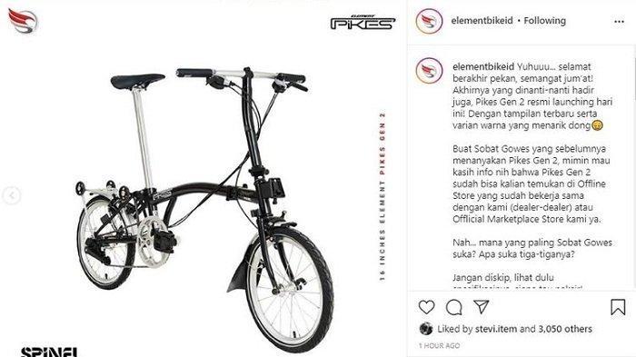 Selain Versi 'Tiruan' Brompton, Ini 5 Varian Sepeda Lipat Element yang Paling Diburu