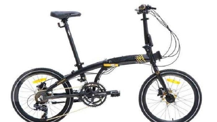 Kabar Baik, Sepeda Lipat Element Ecosmo Z8 Black Panther Edition Dijual Murah