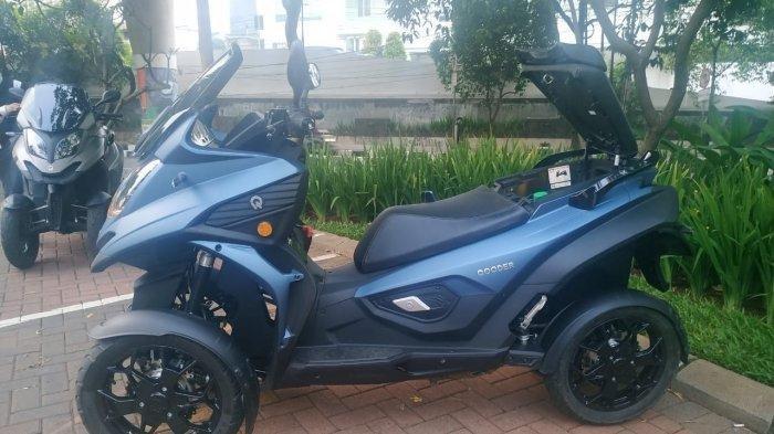 Rilis di Indonesia, Qooder Skuter Matic Bongsor 4 Roda Ini Harganya Setara Kijang Innova Diesel