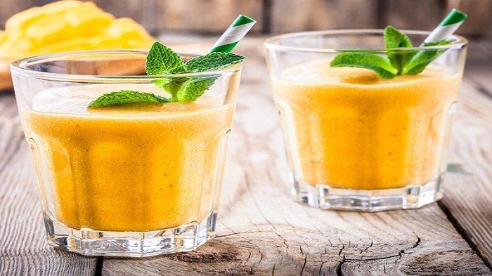 Resep Smoothie Mangga dan Pisang, Lezat dan Sehat, Cocok untuk Menu Buka Puasa Ramadan