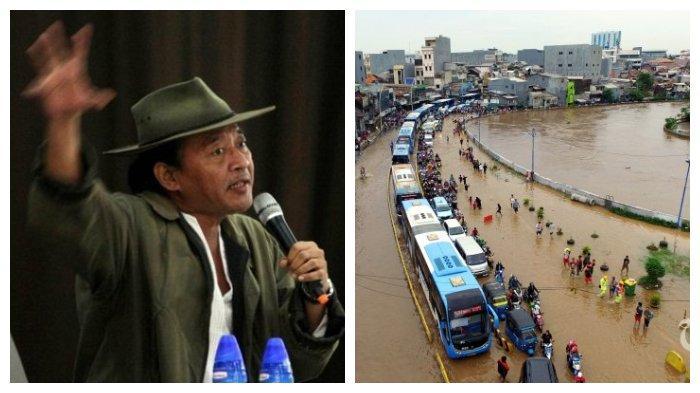 Banjir Jakarta, Sujiwo Tejo: Normalisasi Ciliwung Penting, tapi Normalisasi Kritik Juga Penting