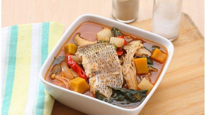 Resep Buka Puasa Praktis Sajian Sup: Sup Ikan Kimchi dan Sop Tahu Jagung
