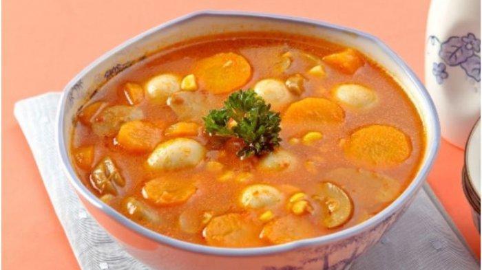 Sup Tomat Telur Puyuh
