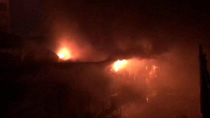 Tangki Oksigen di Bangsal Covid-19 Meledak, RS Ikut Terbakar dan 50 Orang Meninggal Dunia