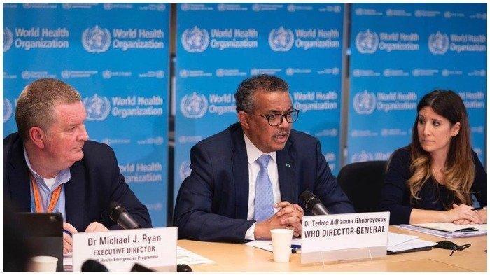 Direktur Jenderal WHO, Tedros Adhanom Ghebreyesus.