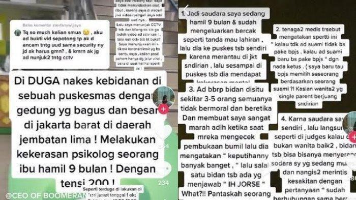 Viral Video Bidan Diduga Hina Ibu Hamil: Sanksi Berat Menanti, Wagub DKI Jakarta Beri Tanggapan
