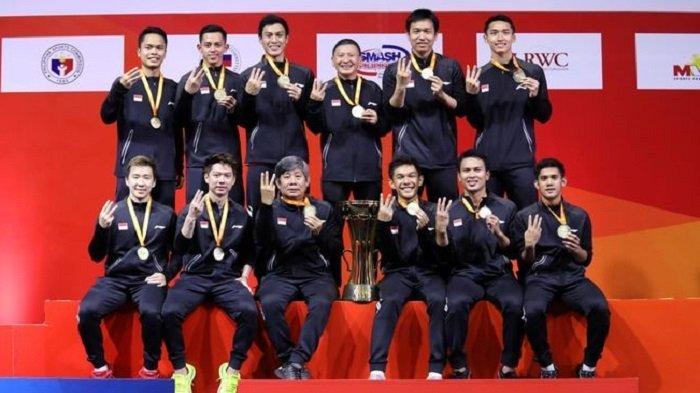 Ini Sederet Fakta Tim Putra Indonesia Juara Kejuaraan Beregu Asia 2020, Ahsan/Hendra Jadi Penentu
