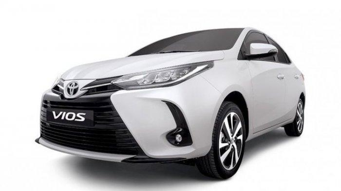 Harga Mulai Rp 198 Jutaan, Mobil Toyota Vios Dapat Penyegaran dan Penambahan Fitur Baru Ini