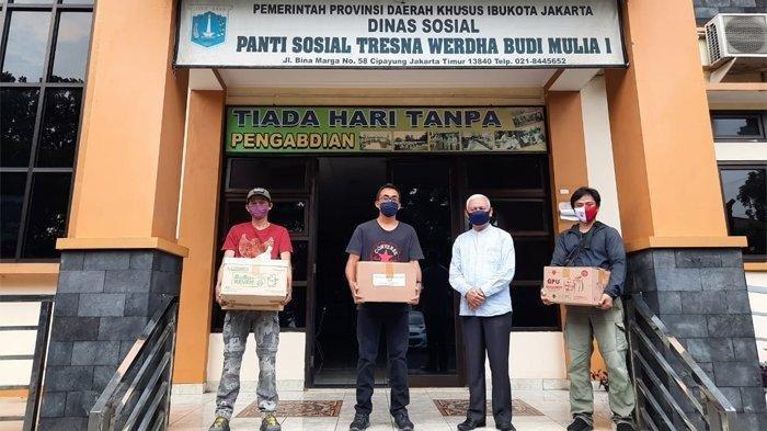 Tribunnews dan Kitabisa.com Sumbang Obat & Suplemen ke Panti Sosial untuk Cegah Penyebaran Covid-19