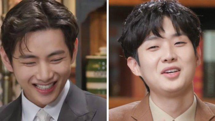 V BTS Berhasil Menebak Kenangan Terbaik Choi Woo Shik bersama 'Wooga Squad', Apa Ya?