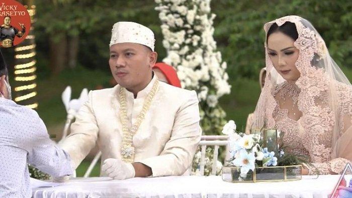 Vicky Prasetyo dan Kalina Ocktaranny resmi menikah, Sabtu, 13 Maret 2021.