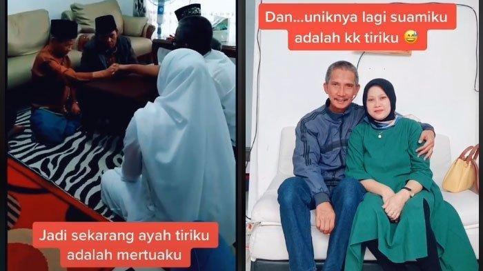 Viral Besan Nikahi Besan, Ibu Kandung dan Ayah Mertua Resmi Menikah, 'Suamiku adalah Kakak Tiriku'