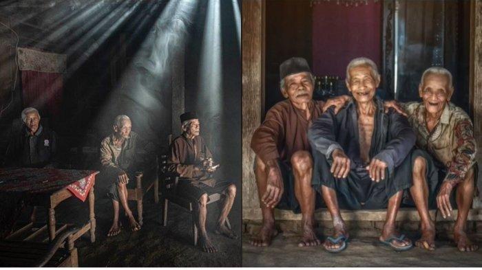 Kisah Persahabatan 3 Kakek di Blitar Viral, Bersahabat Sejak Kecil, Selalu Bersama