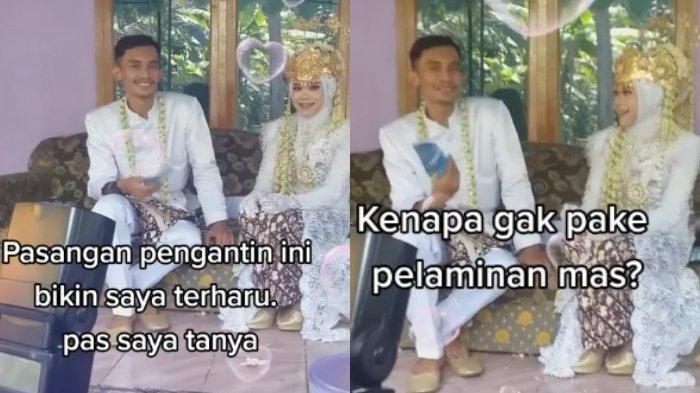 Viral Video Pengantin Menikah Tanpa Pelaminan di Cilacap, Mengaku Hanya Keluarkan Biaya Rp 7 Juta