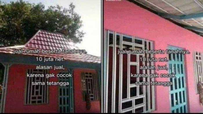 Viral Rumah Dijual Rp 10 Juta, Alasan Pemilik Tak Cocok dengan Tetangga, Ternyata Ini Faktanya