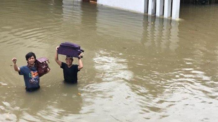 Terakhir Terendam 2012, Rumah Rian D'Masiv Kembali Banjir, Kulkas dan Barang Lainnya Hanyut