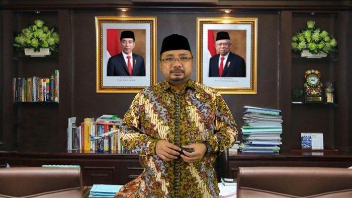 Menteri Agama RI Yaqut Cholil Qoumas