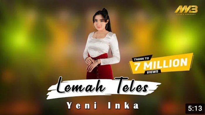 Lirik dan Chord Gitar Lemah Teles - Yeni Inka: Kowe Mbelok Ngewo Nengen, Tanpo Nguwaske Mburi