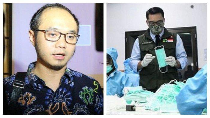 Ridwan Kamil Produksi Masker Standar WHO dalam Jumlah Besar, Yunarto: Juara, Gak Kebanyakan Konpers