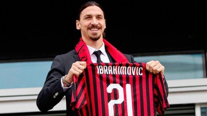 Zlatan Ibrahimovic Sepakat Lanjut Main di AC Milan, Segini Gaji yang Akan Diterima