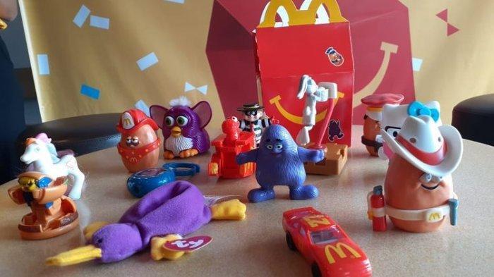 14 Mainan Happy Meal Generasi 90an Kembali Hadir di McDonald's, Ini Daftarnya