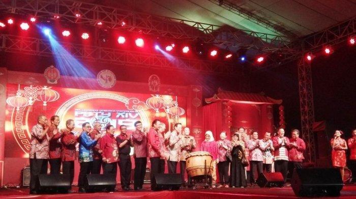 Pekan Budaya Tionghoa Yogyakarta 2019 Resmi Dibuka di Kampoeng Ketandan