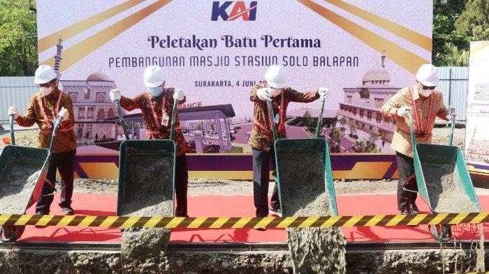 Tingkatkan Pelayanan, PT KAI Bangun Masjid di Stasiun Solo Balapan