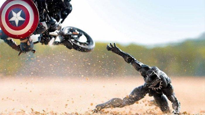 Mirip Aslinya, 10 Foto 'Action Figure' Ini Bikin Nggak Nyangka Kalau Aksi Itu Cuma Replika