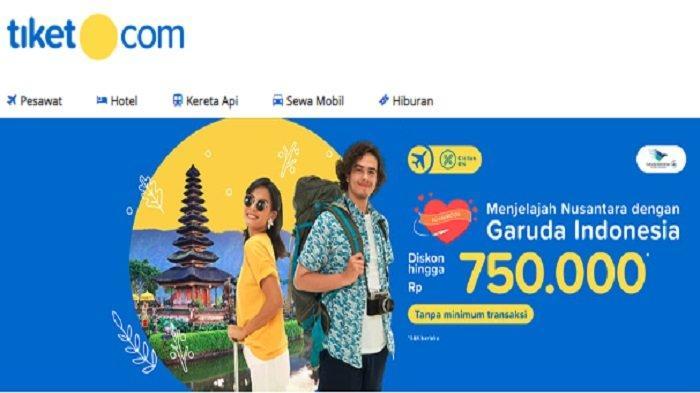 Jelajah Nusantara dengan Garuda Indonesia, Pesan di Tiket.com Dapat Diskon hingga Rp 750 Ribu