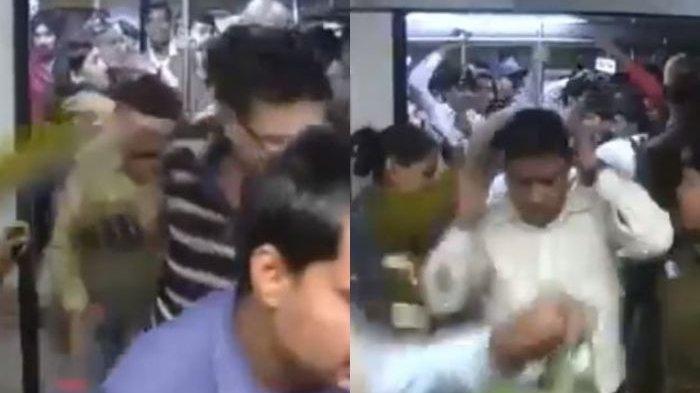 Video Petugas Tampar Pria yang Nekat Masuk Gerbong Wanita Viral di Medsos