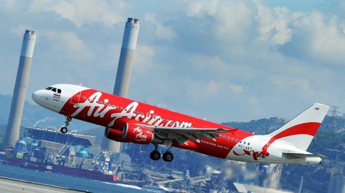 Mengerikan! Kru Berteriak dan Menangis, Air Asia Tujuan Bali Kembali Perth Setelah Terbang 25 Menit