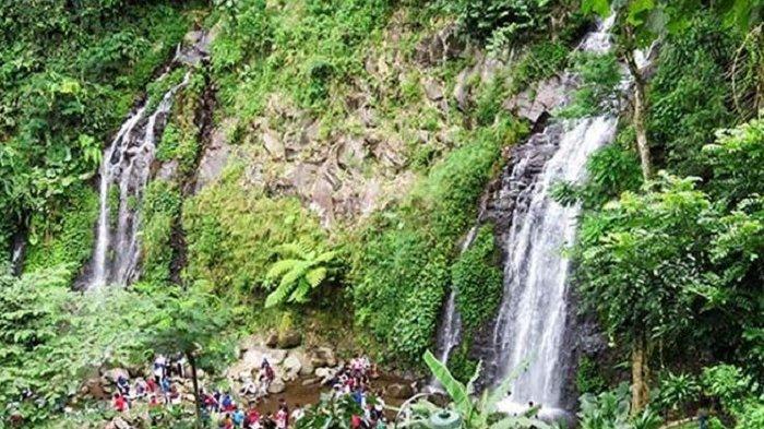 Foto-foto dan Informasi Harga Tiket Masuk Air Terjun Pengantin di Ngawi