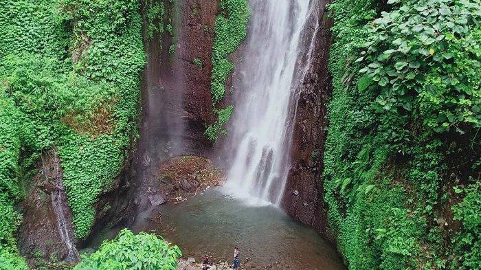 Air Terjun Putuk Truno, Pasuruan, Jawa Timur.