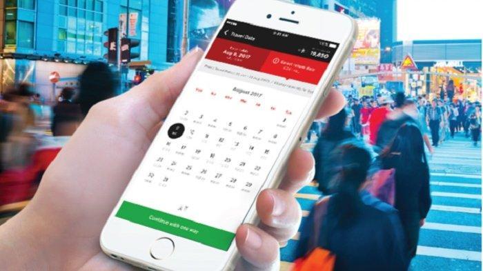 Aplikasi Airasia mobile