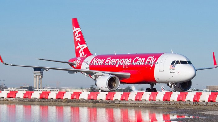 AirAsia Batalkan Beberapa Penerbangan di China Selatan dan Filipina Akibat Topan Mangkhut