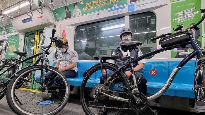TRAVEL UPDATE: MRT Jakarta Kini Punya Akses Buat Penumpang yang Bawa Sepeda Non Lipat