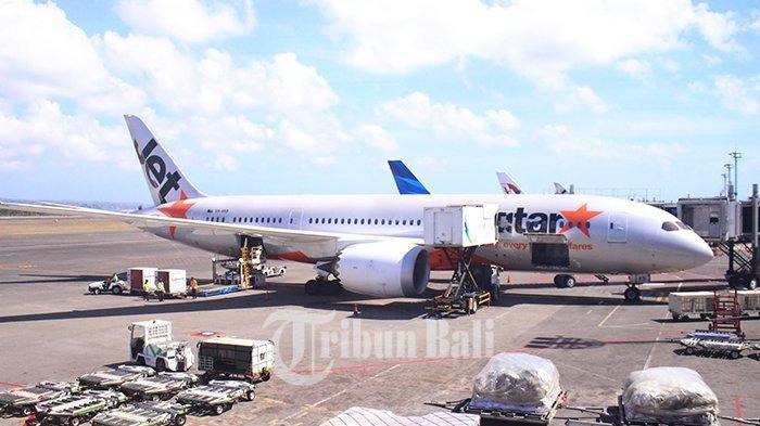 Ini Daftar Penerbangan yang Dibatalkan di Bandara I Gusti Ngurah Rai Setelah Erupsi Gunung Agung