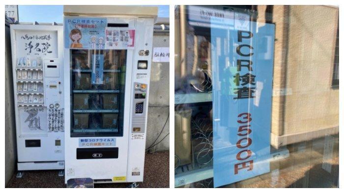 Cuma di Jepang, Mesin Penjual Otomatis Sediakan Alat Tes PCR dan Sampelnya Bisa Dikirim via Pos