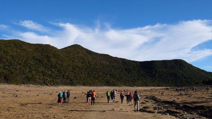 Protokol Normal Baru Pendakian Gunung Gede Pangrango, Kapasitas Tenda Dikurangi 50 Persen