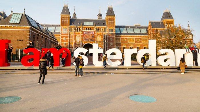 Tulisan Ikonik I Amsterdam di Luar Rijksmuseum Belanda Dicopot, Apa Alasannya?