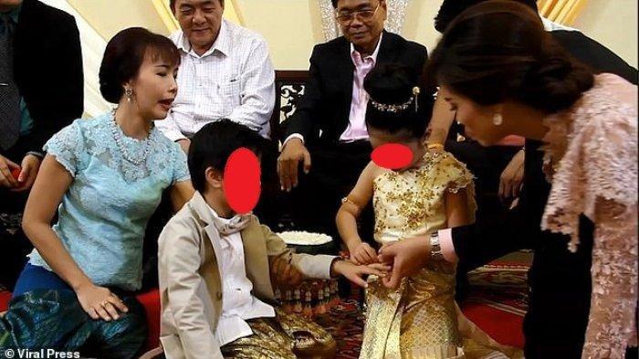 Sepasang Anak Kembar Berusia 6 Tahun di Thailand Menikah untuk Hindari Nasib Buruk di Masa Depan