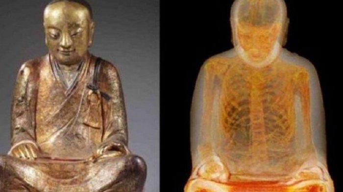 7 Benda Tak Biasa Disimpan dalam Patung-Patung Populer di Dunia, Ada Mumi Biksu hingga Emas Murni