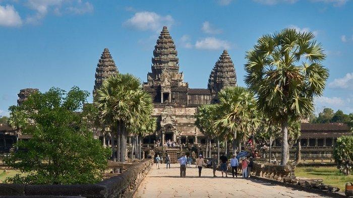 Angkor Wat Kamboja Tutup Selama 14 Hari untuk Mencegah Penyebaran Covid-19