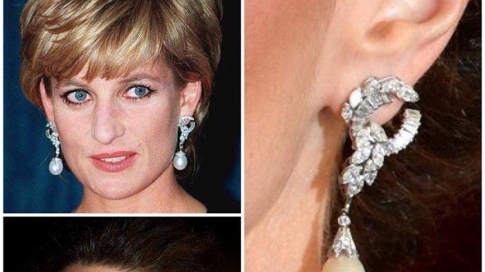 Kate Middleton kenakan anting sepeninggalan Ratu Quatrefoil