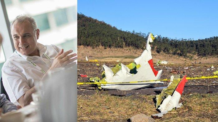 Terlambat 2 Menit, Pria Yunani Selamat dari Kecelakaan Nahas Pesawat Ethiopian Airlines